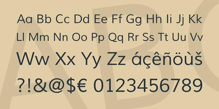 Muli font-1