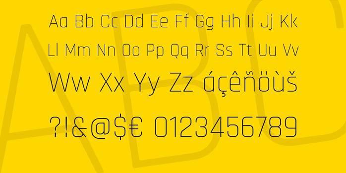 Rajdhani Font Family-1