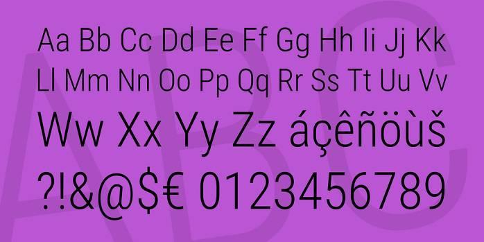 Roboto Condensed Font Family-1