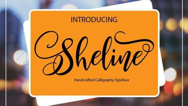 Sheline Font