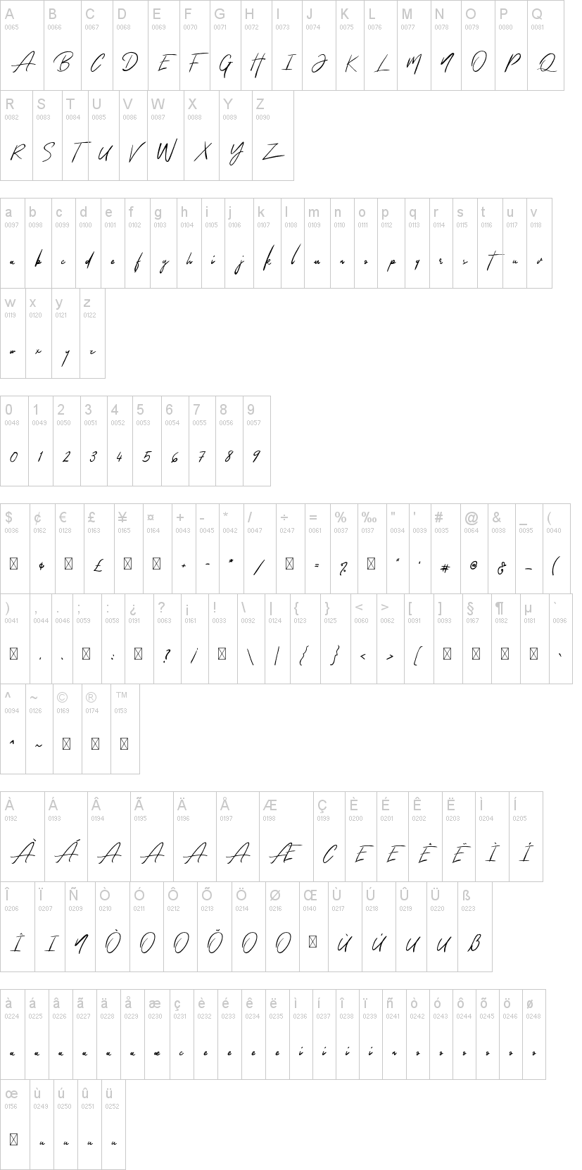 The Queenthine Font-1