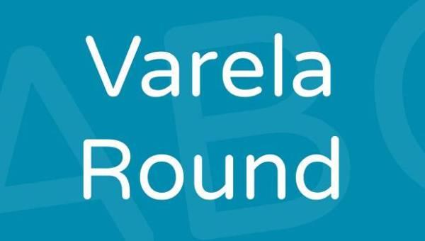 Varela Round Font