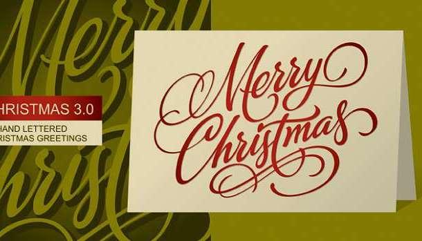 Waving at Christmas Font