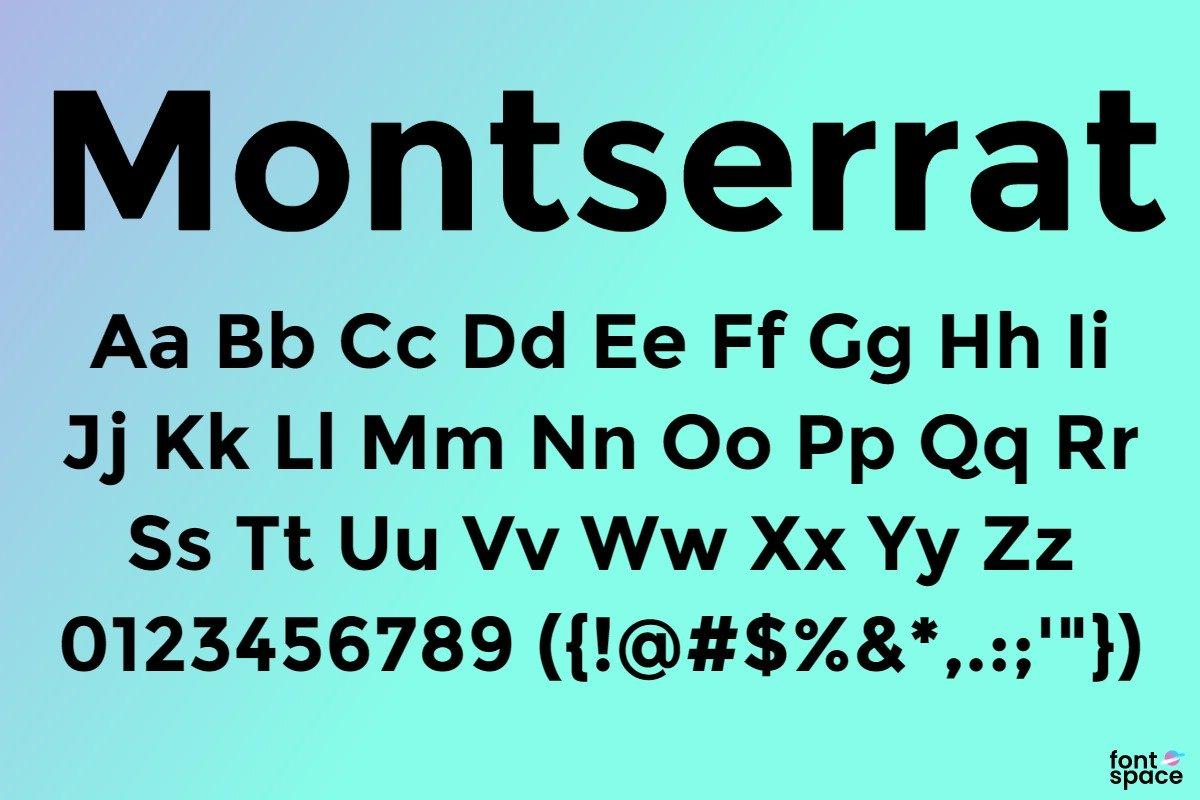 montserrat-font-poster-141344