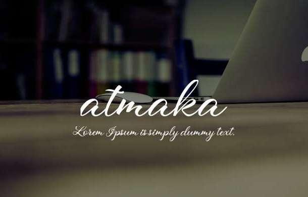 Atmaka Font