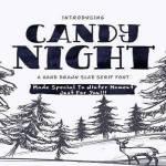 Candy Night Font