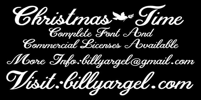 Christmas Time Font