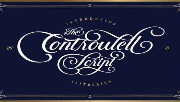 Controwell Script Font