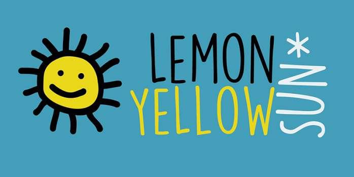 DK Lemon Yellow Sun Font