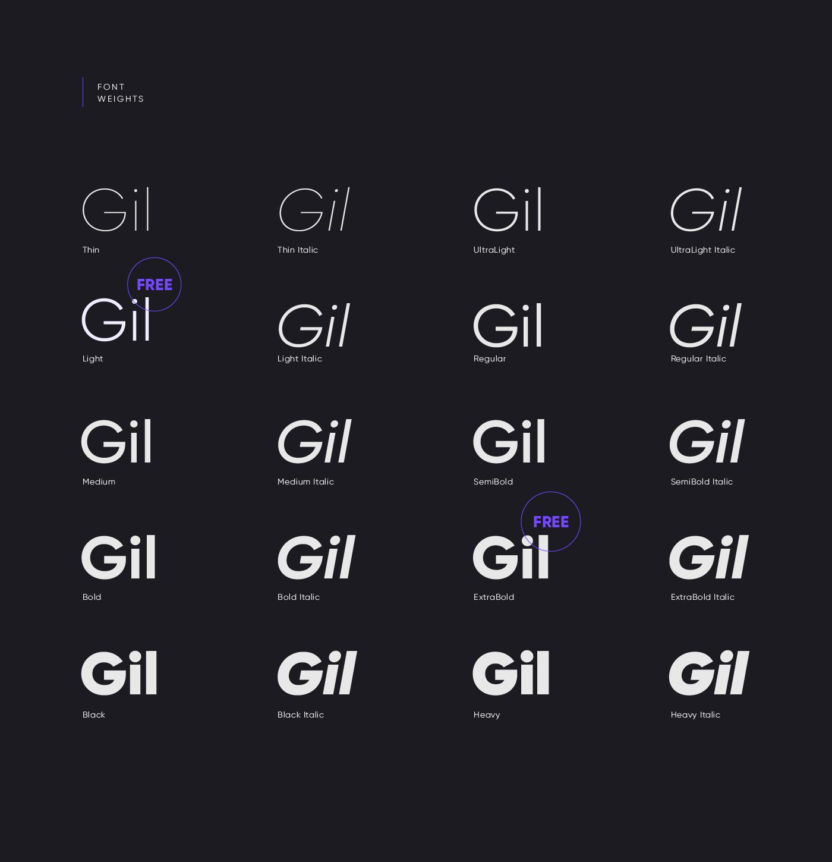 Gilroy Font-2