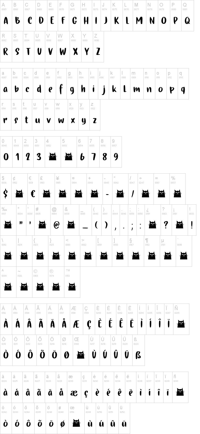 Gingerline Font-1