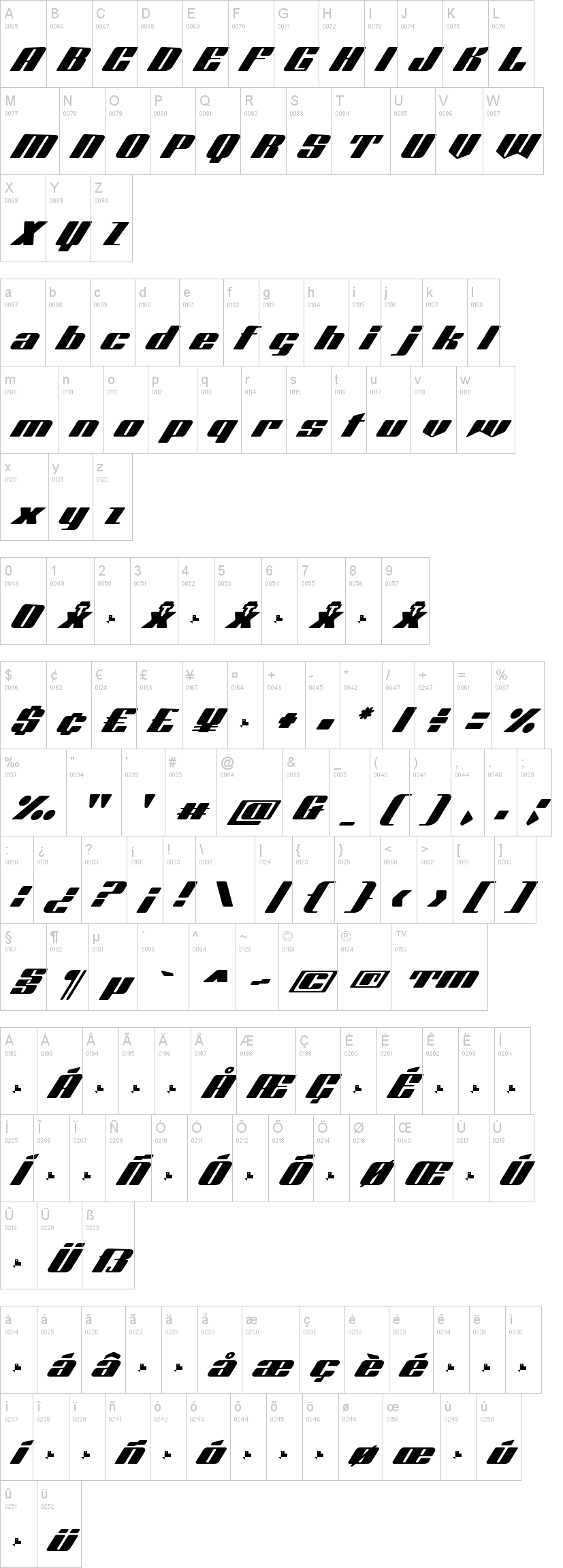 Octuple Max Font-1