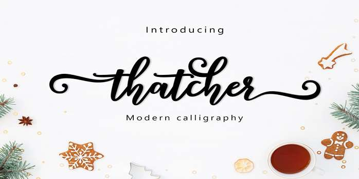 Thatcher Font