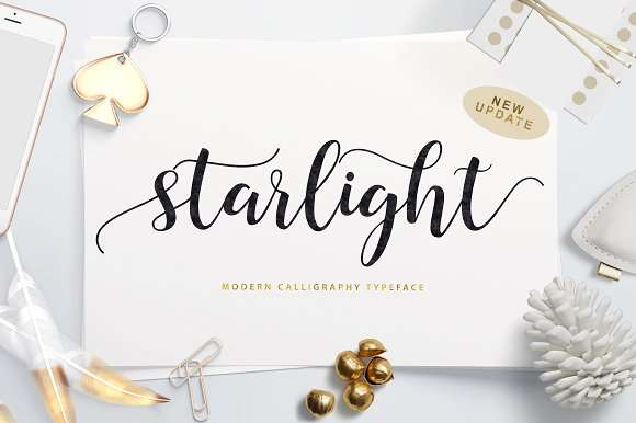 The Starlight Font