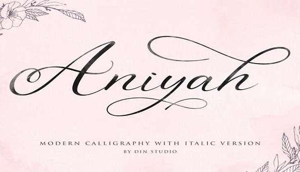 Aniyah Font