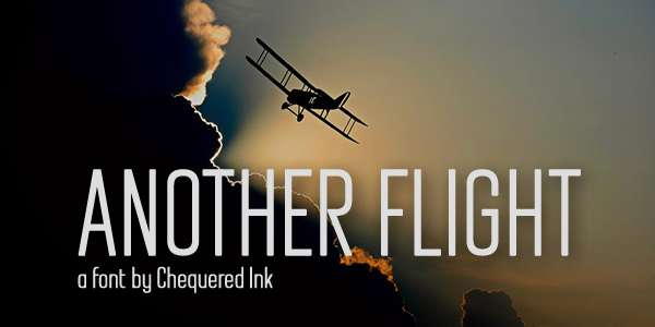 Another Flight Font