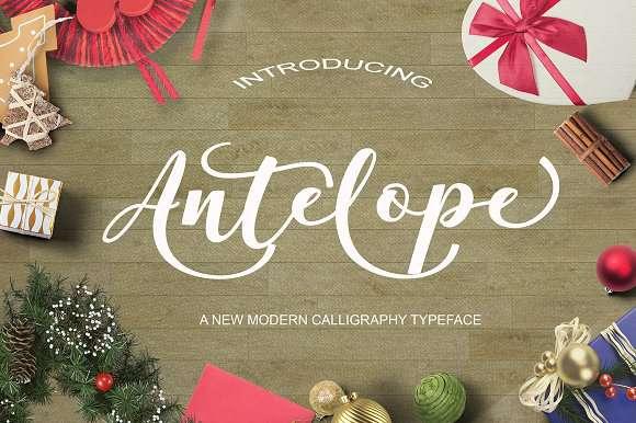 Antelope Font