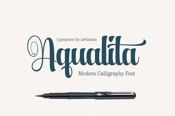 Aqualita Font