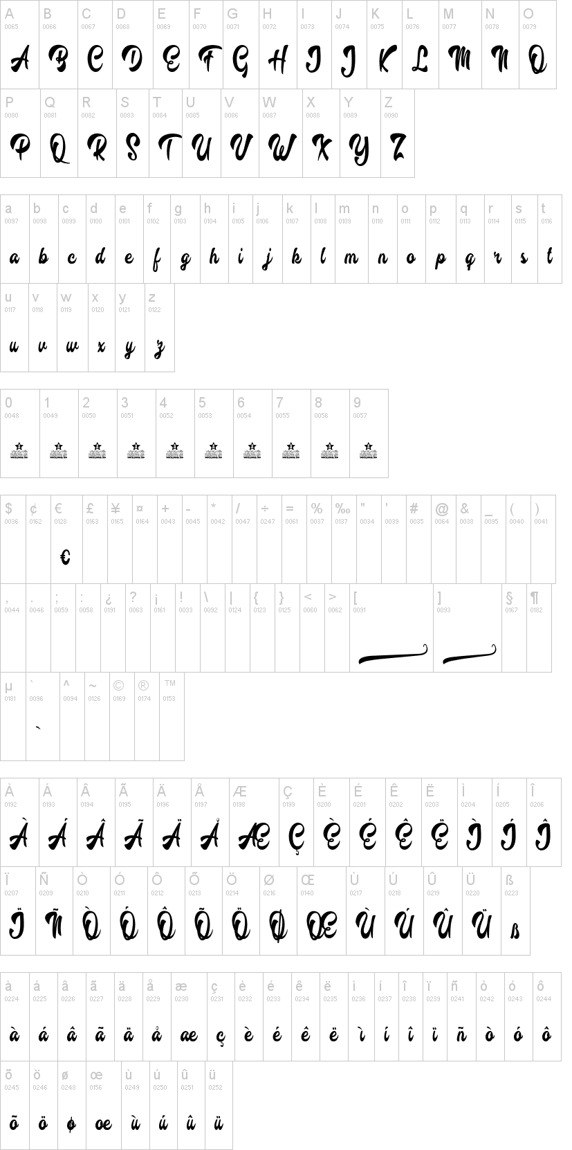 Barbecue Font-1