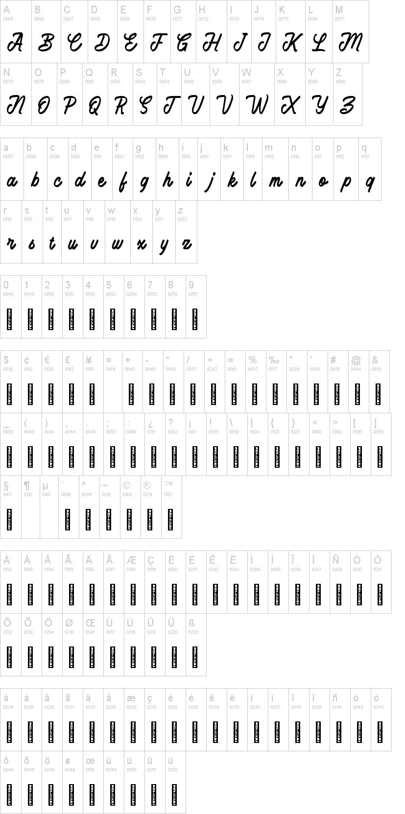 Battams Font-1