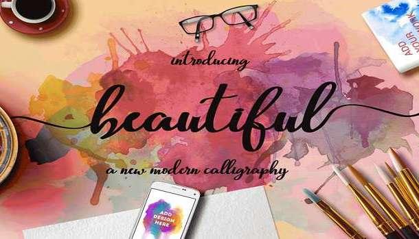 Beautiful Script Font