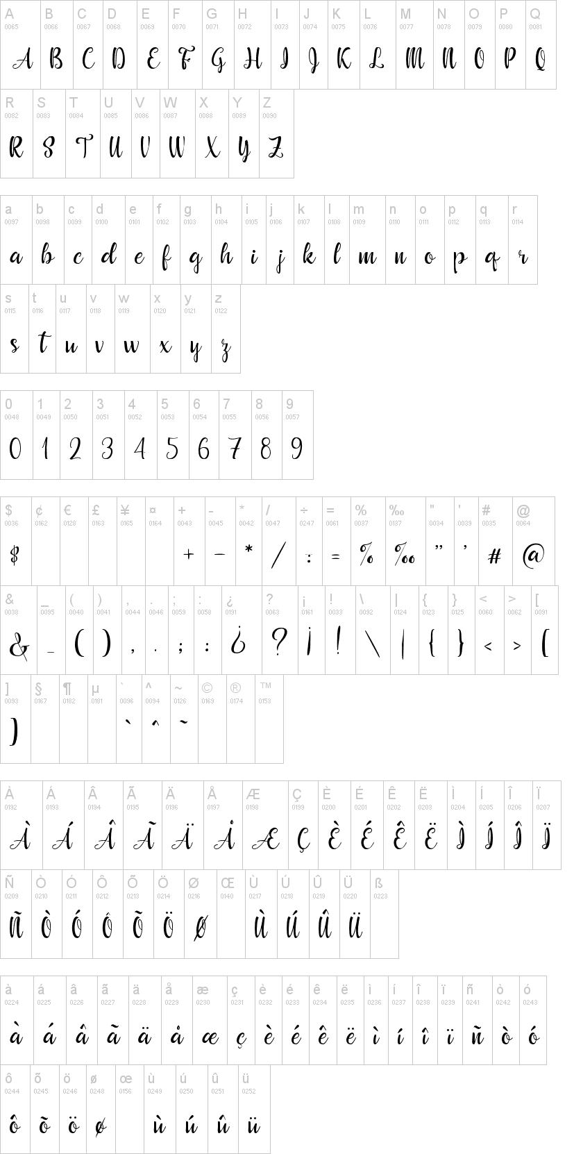 Beautyface Font-1