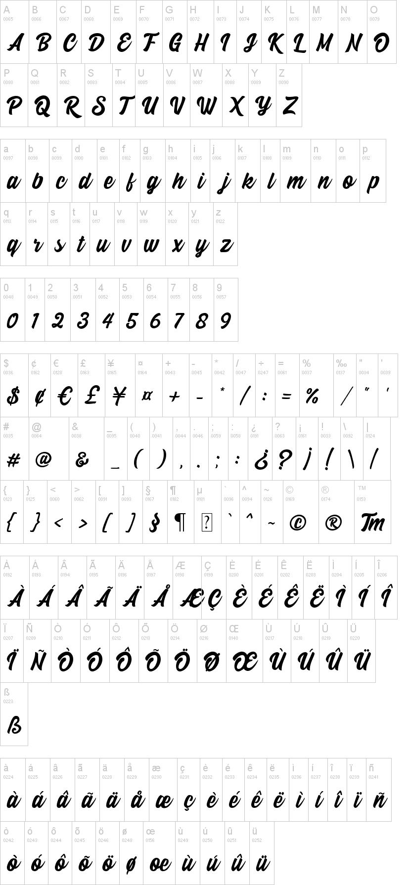 Beindog Gite Font-1