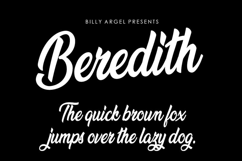 Beredith Font