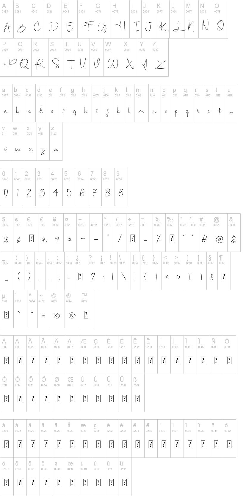 Berthy Font-1