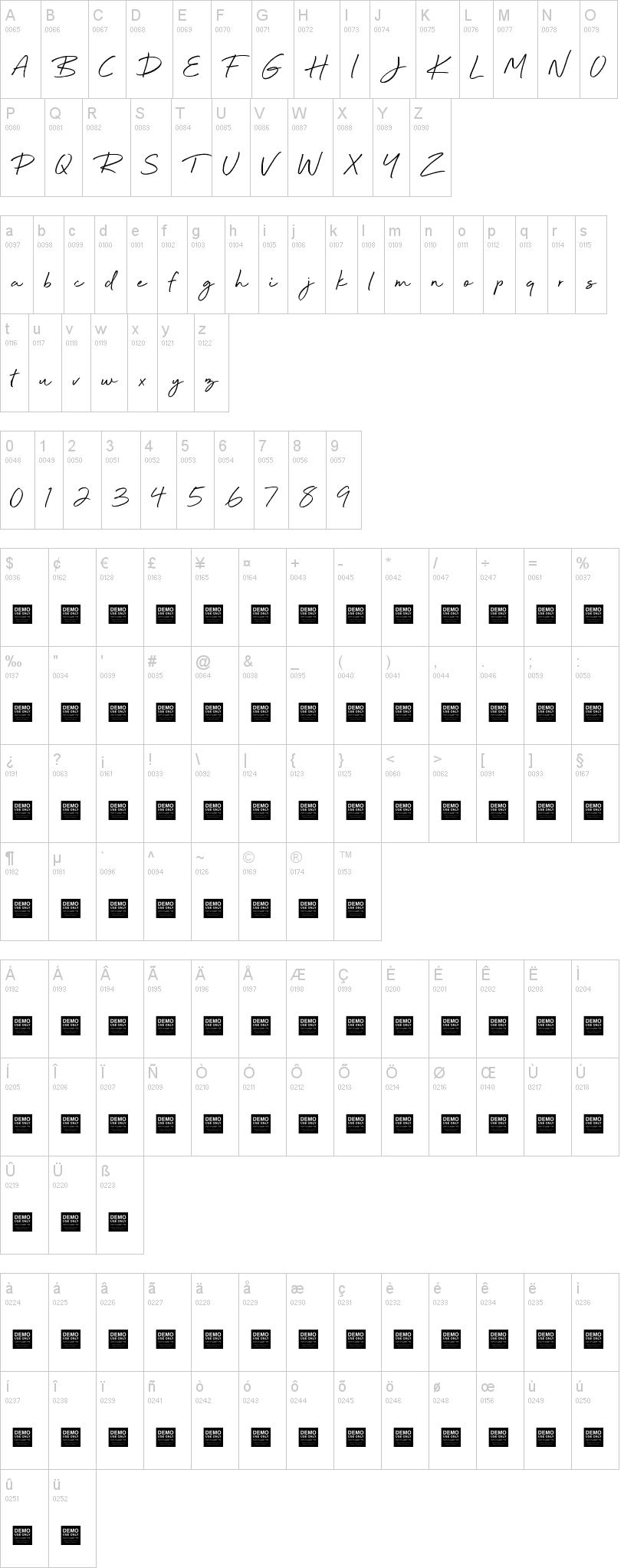 Beyond Infinity Font-1