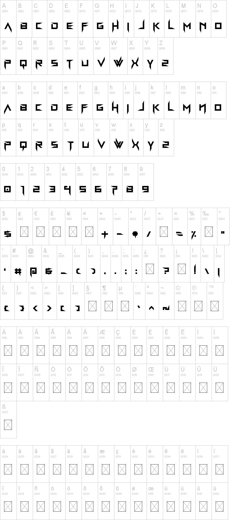 Bravada Arma Font-1