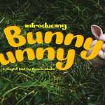 Bunny Funny Font