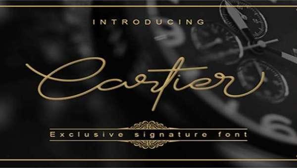 Cartier Font
