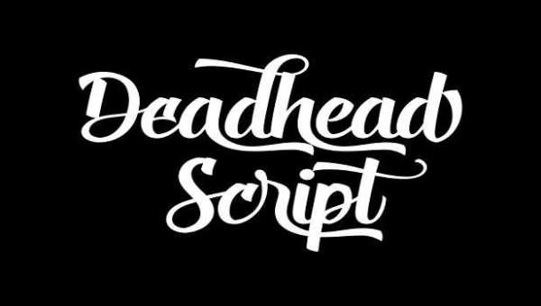 Deadhead Script Font