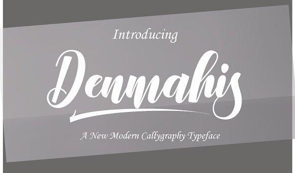 Denmahis Font