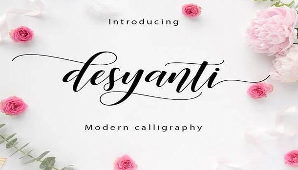 Desyanti Font