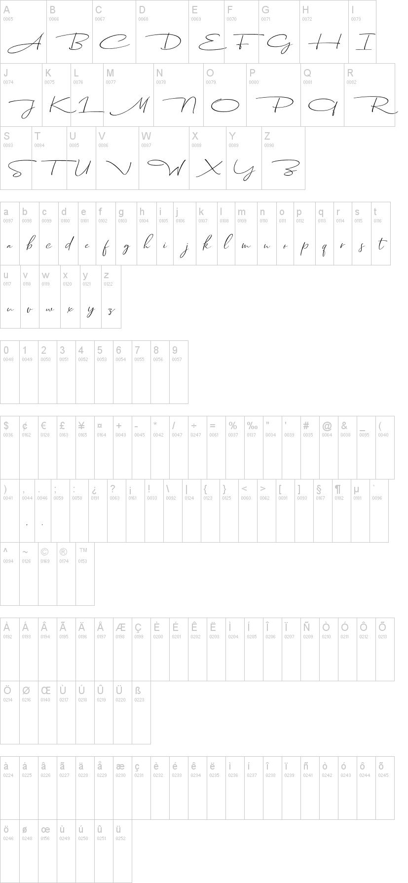 Dhanikans Signature 2 Font-1