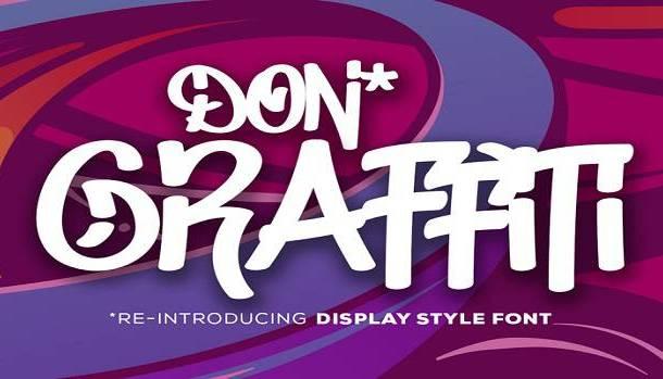 Don Graffiti Font
