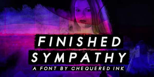 Finished Sympathy Font