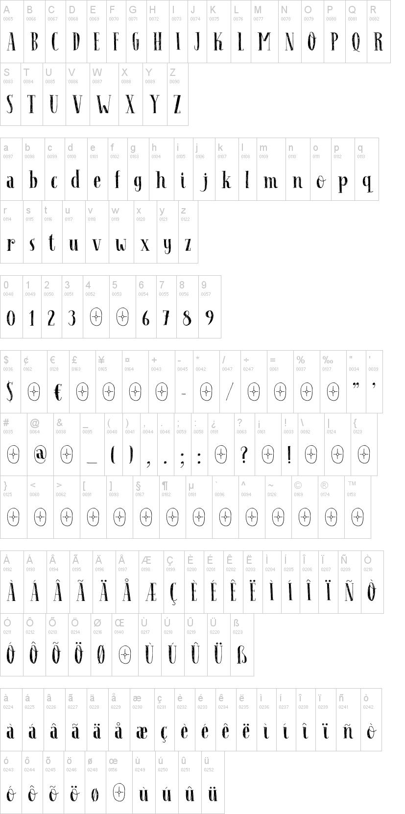 Follow The Light Font-1