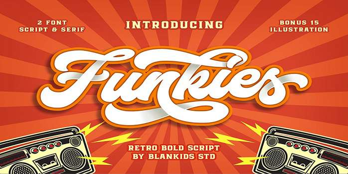 Funkies Font