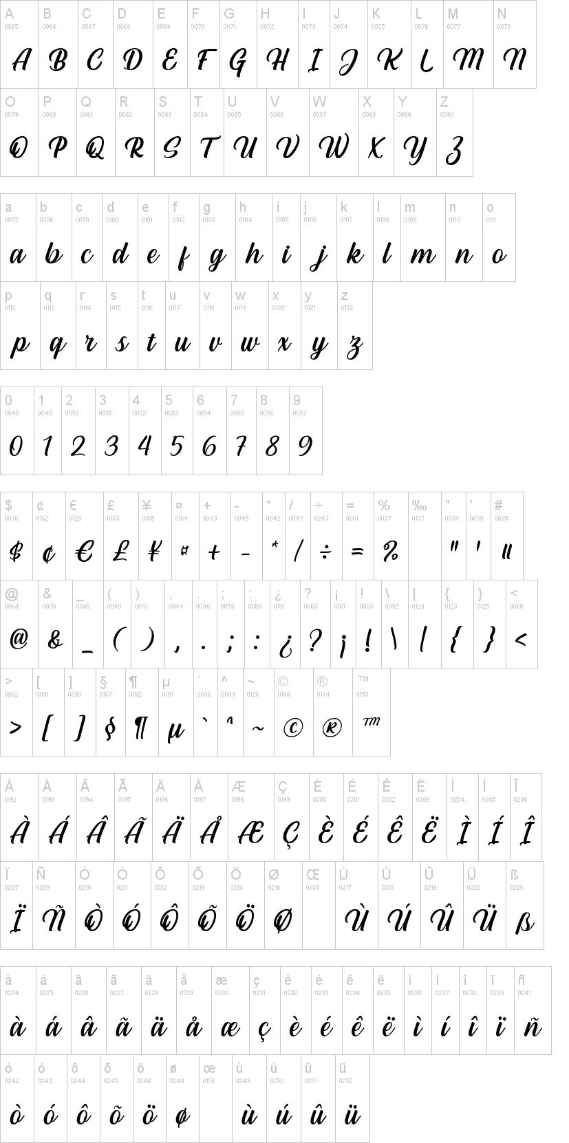 Hestina Font-1
