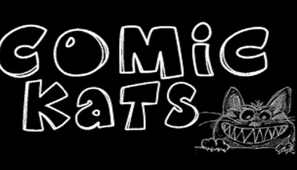 K26 Comic Kats Font