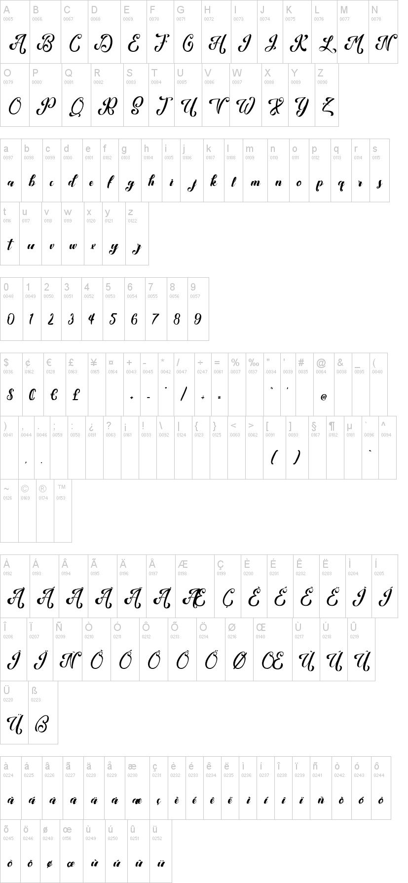 Kansha Font-1