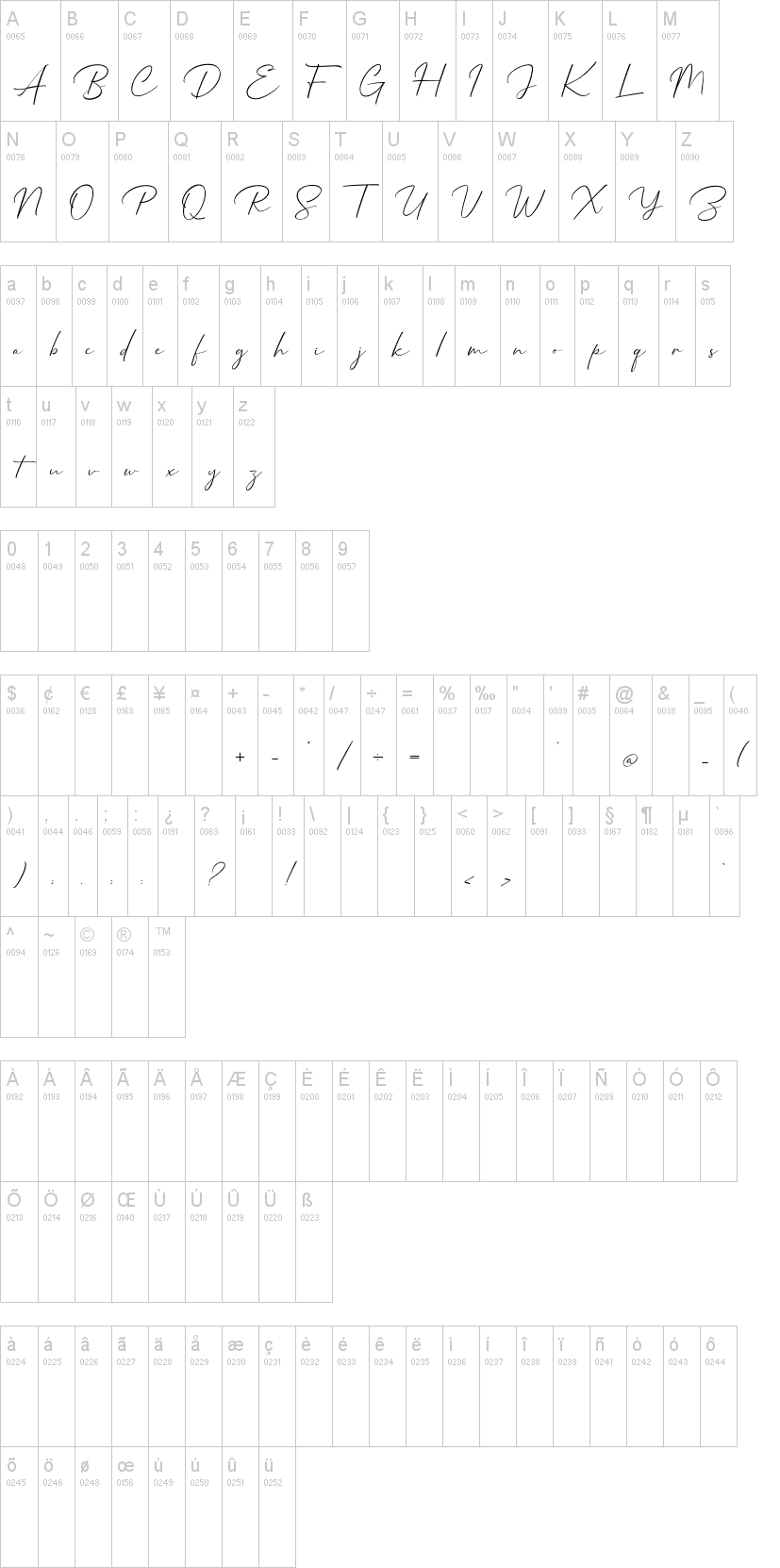 Mathanifo Script Font-1