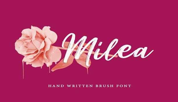 Milea Font