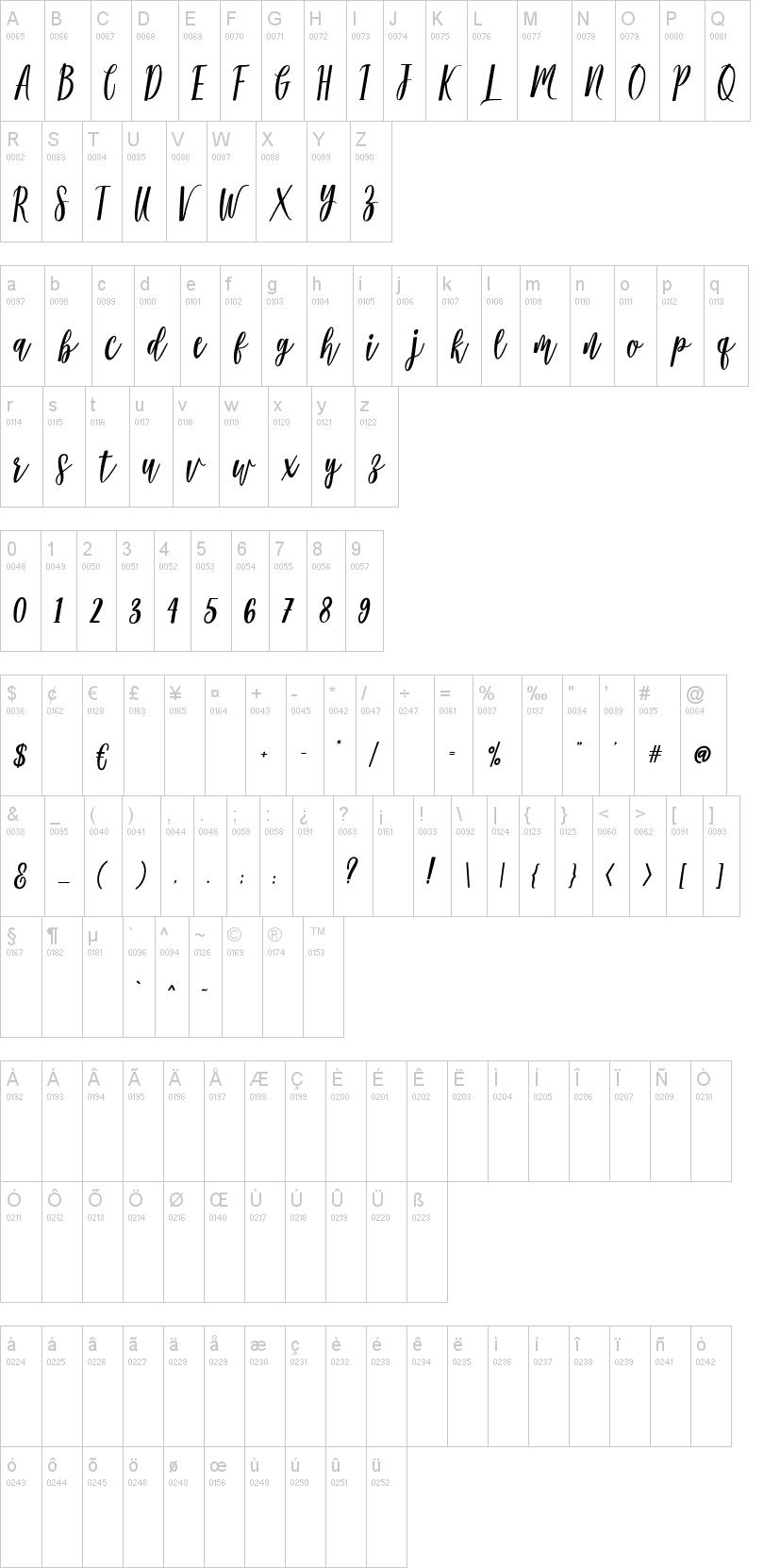Modena Font-1