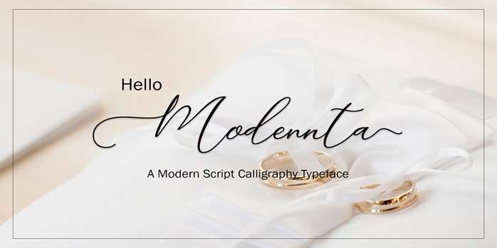 Modennta Font