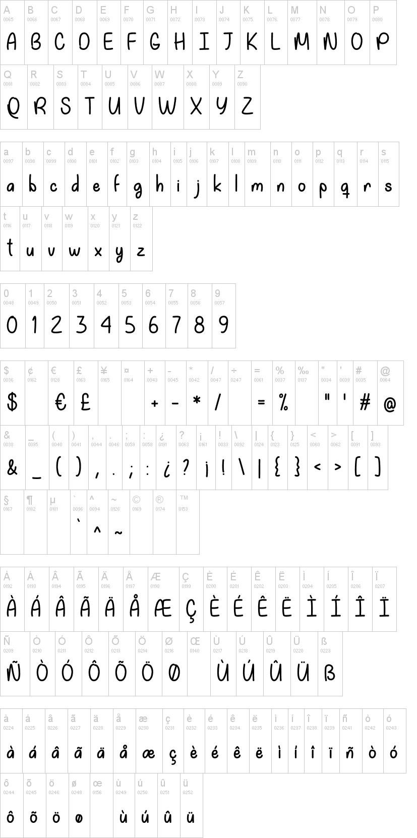 My Happy Ending Font-1