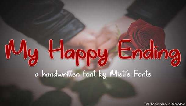 My Happy Ending Font